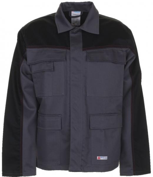 PLANAM Arbeits-Berufs-Bund-Jacke, Weld Shield, MG 365, grau/schwarz