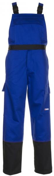 PLANAM-Schweißer-Arbeits-Schutz-Berufs-Latz-Hose, Weld Shield, MG 365, kornblau/schwarz