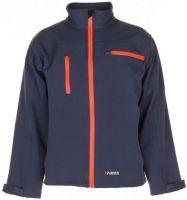 PLANAM-Forst-Arbeits-Schutz-Berufs-Schnittschutz-Softshell Jacke, grau