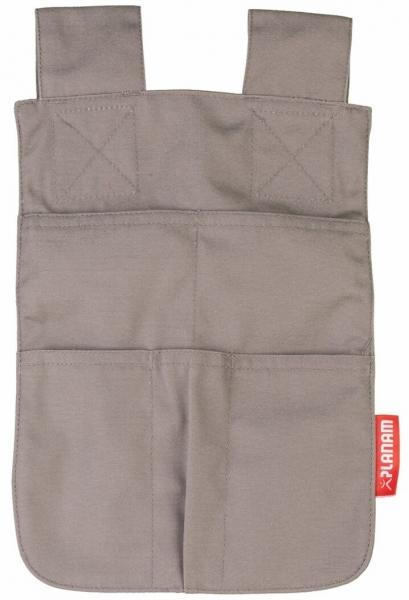 PLANAM-Werkzeugtasche, 280 g/m², zink