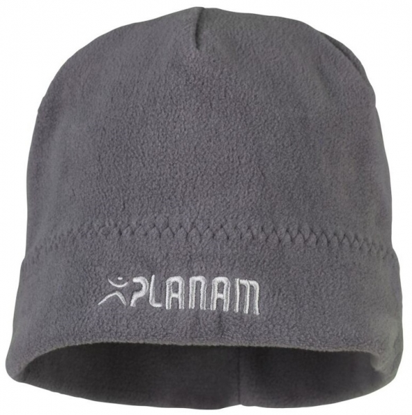 PLANAM Winter-Fleece Mütze, schiefer