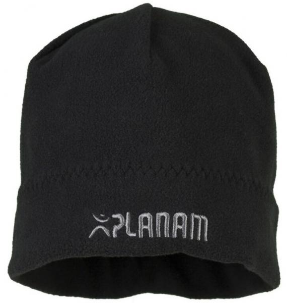 PLANAM Winter-Fleece Mütze, schwarz