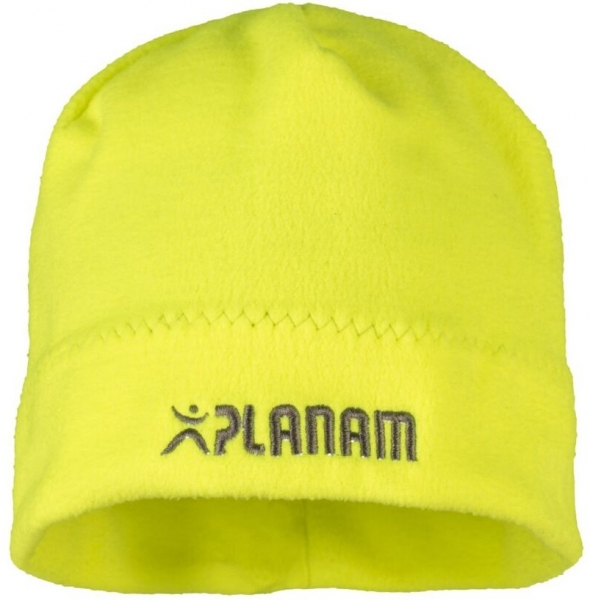 PLANAM Winter-Fleece-Mütze, gelb