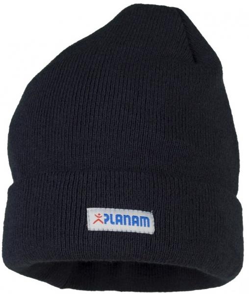 PLANAM Thinsulate-Winter-Mütze, mit Umschlag, marine