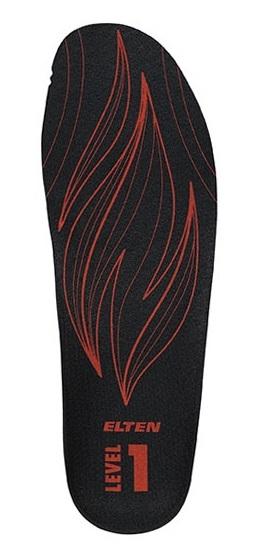 ELTEN-Einlegesohle, FIREFIGHTERS Sole Level 1, schwarz