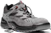 ELTEN-S1-Sicherheits-Arbeits-Berufs-Schuhe, Halbschuhe, JAN GREY, Fußtyp 3, schmale Fußweite, dunkelgrau