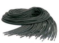 ELTEN-RUNDSENKEL, 130 cm, schwarz, VE: 50 Paar