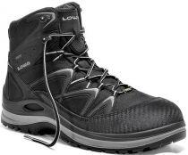 ELTEN-LOWA-S3-Sicherheits-Arbeits-Berufs-Schuhe, Halbschuhe, INNOX WORK GTX LIME LO, schwarz/limette