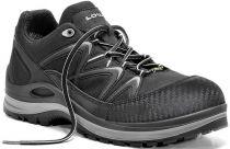 ELTEN-LOWA-S3-Sicherheits-Arbeits-Berufs-Schuhe, Halbschuhe, INNOX WORK GTX GREY LO, schwarz/grau
