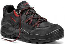 ELTEN-LOWA-S3-Sicherheits-Arbeits-Berufs-Schuhe, Halbschuhe, BOREAS WORK GTX LO, schwarz/rot