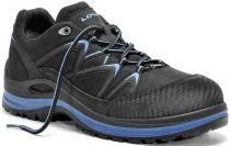 ELTEN-LOWA-S3-Sicherheits-Arbeits-Berufs-Schuhe, Halbschuhe, INNOX WORK GTX BLUE LO, schwarz/blau