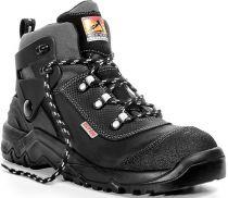 ELTEN-S3-Schnürstiefel, Sicherheits-Arbeits-Berufs-Schuhe, Hochschuhe, DINO BLACK, schwarz