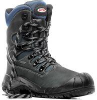 ELTEN-S3 CI-Winter-Sicherheits-Arbeits-Berufs-Schuhe, Hochstiefel, JORIS, GTX, schwarz/blau