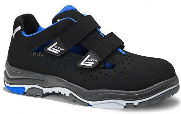 ELTEN-S1-ERGO-ACTIVE-Sicherheitssandale, IMPULSE EA Easy, ESD, Fußtyp 1, blau