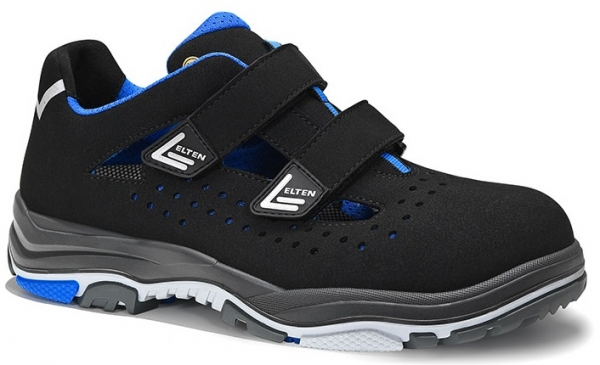 ELTEN-S1-ERGO-ACTIVE-Sicherheitssandale, IMPULSE EA Easy, ESD, Fußtyp 2, blau