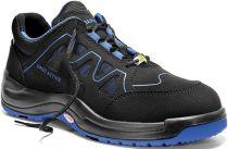 ELTEN-S1-Sicherheits-Arbeits-Berufs-Schuhe, Halbschuhe, GRANT BLUE LOW ESD, Fußtyp 1, breite Füße, schwarz/blau
