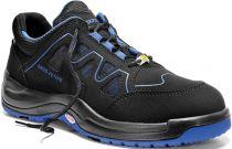 ELTEN-S1-Sicherheits-Arbeits-Berufs-Schuhe, Halbschuhe, GRANT BLUE LOW ESD, Fußtyp 2, normale Fußweite, schwarz/blau