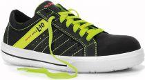 ELTEN-S1P-Sicherheits-Arbeits-Berufs-Schuhe, Halbschuhe, BREEZER BLACK LOW ESD, schwarz