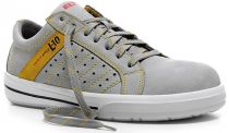ELTEN-S1-Sicherheits-Arbeits-Berufs-Schuhe, Halbschuhe, BREEZER GREY LOW ESD, grau