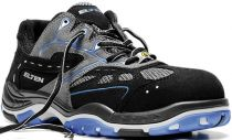 ELTEN-S1-Sicherheits-Arbeits-Berufs-Schuhe, Halbschuhe, EASY BLUE ESD, schwarz/blau
