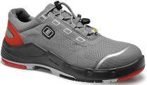 ELTEN-S1-Sicherheits-Arbeits-Berufs-Schuhe, Halbschuhe, MIGUEL Low ESD, grau