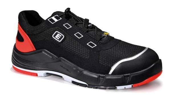 ELTEN-S1-Sicherheits-Arbeits-Berufs-Schuhe, Halbschuhe, MIGUEL black Low, ESD, schwarz