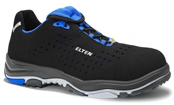 ELTEN-S1-ERGO-ACTIVE-Sicherheitshalbschuhe, IMPULSE EA Low, ESD, Fußtyp 1, blau