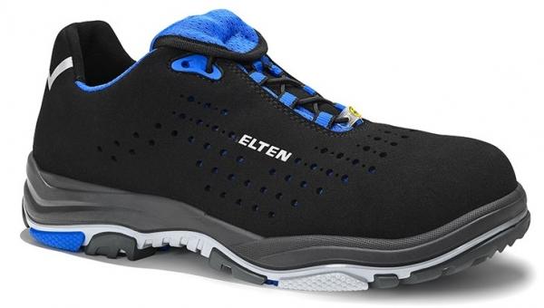 ELTEN-S1-ERGO-ACTIVE-Sicherheitshalbschuhe, IMPULSE EA Low, ESD, Fußtyp 2, blau