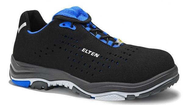 ELTEN-S1-ERGO-ACTIVE-Sicherheitshalbschuhe, IMPULSE EA Low, ESD, Fußtyp 3, blau