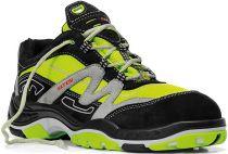ELTEN-S3-Sicherheits-Arbeits-Berufs-Schuhe, Halbschuhe, BOOSTER GTX LOW ESD, schwarz/grün