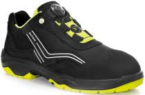 ELTEN-S2-Sicherheits-Arbeits-Berufs-Schuhe, Halbschuhe, AMBITION BOA LOW, ESD, schwarz/gelb