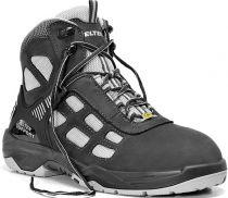 ELTEN-S1-Sicherheits-Arbeits-Berufs-Schuhe, Halbschuhe, RUSHER LOW, ESD, schwarz/grau