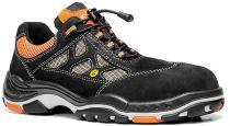 ELTEN-S1-Sicherheits-Arbeits-Berufs-Schuhe, Halbschuhe, SUNNY ESD, schwarz/orange