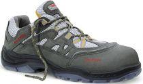ELTEN-S1-Sicherheits-Arbeits-Berufs-Schuhe, Halbschuhe, SKY GREY-YELLOW ESD, grau/gelb