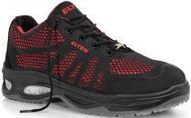 ELTEN-S1-Sicherheits-Arbeits-Berufs-Schuhe, Halbschuhe, LOGAN RED LOW ESD, schwarz/rot