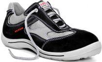 ELTEN-S1-Sicherheits-Arbeits-Berufs-Schuhe, Halbschuhe, NEELE LOW, ESD, schwarz/grau