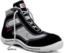 ELTEN-S1-Sicherheits-Arbeits-Berufs-Schuhe, Hochschuhe, NEELE MID, ESD, schwarz/grau