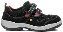 ELTEN-S1-Damen-Sicherheits-Arbeits-Berufs-Sandalen mit Klettverschluss, MAJA EASY ESD, schwarz