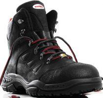 ELTEN-S3-Schnürstiefel, Sicherheits-Arbeits-Berufs-Schuhe, Hochschuhe, TILL MID ESD, schwarz