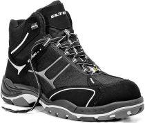 ELTEN-S2-Schnürstiefel, Sicherheits-Arbeits-Berufs-Schuhe, Hochschuhe, MOTION  MID ESD, schwarz