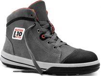 ELTEN-S3-Schnürstiefel, Sicherheits-Arbeits-Berufs-Schuhe, Hochschuhe, VINTAGE PIRATE MID ESD, grau