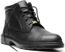 ELTEN-S3-Schnürstiefel, Sicherheits-Arbeits-Berufs-Schuhe, Hochschuhe, ADVISER MID ESD, schwarz