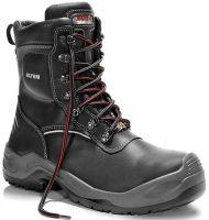 ELTEN-S3-CI-Winter-Sicherheits-Arbeits-Berufs-Schuhe, Schnürstiefel, hoch, JOSCHI ESD CI, schwarz