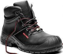 ELTEN-S3-Schnürstiefel, Sicherheits-Arbeits-Berufs-Schuhe, Hochschuhe, RENZO XXW MID ESD, schwarz