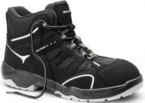 ELTEN S1-Schnürstiefel, Sicherheits-Arbeits-Berufs-Schuhe, Hochschuhe, MOTION MESH Mid ESD, schwarz