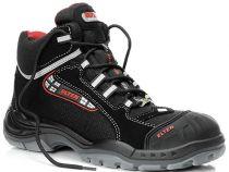 ELTEN-S3-Schnürstiefel, Sicherheits-Arbeits-Berufs-Schuhe, Hochschuhe, SANDER PRO ESD, mit Überkappe, schwarz