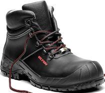 ELTEN-S3-Schnürstiefel, Sicherheits-Arbeits-Berufs-Schuhe, Hochschuhe, LAURENZO  PU MID ESD, schwarz
