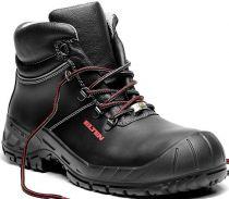 ELTEN-S3-Schnürstiefel, Sicherheits-Arbeits-Berufs-Schuhe, Hochschuhe, LAURENZO  RUBBER MID ESD, schwarz