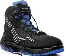 ELTEN-S1-Sicherheits-Arbeits-Berufs-Schuhe, Hochschuhe, AMBITION BLUE MID, ESD, blau