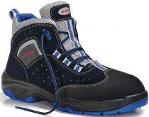 ELTEN-S1-Schnürstiefel, Sicherheits-Arbeits-Berufs-Schuhe, Hochschuhe, RUNABOUT AIR ESD, schwarz/grau